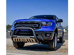 Ultimate LED Bull Bar; Textured Black (19-21 Ranger)