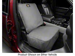 Weathertech Front Seat Protector; Gray (07-21 Tundra w/ Bucket Seats)