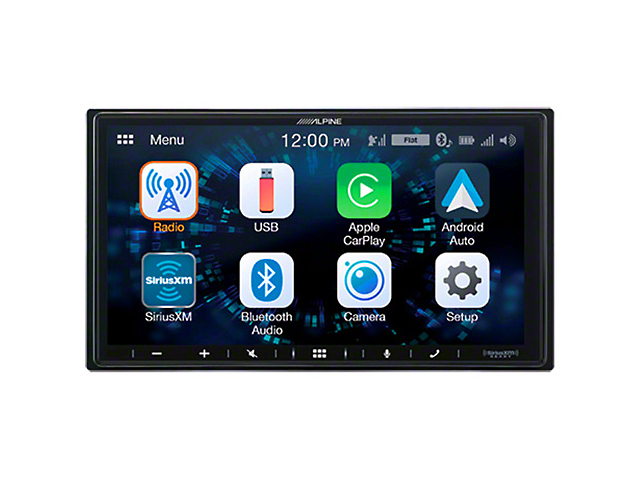 Alpine 7-Inch Shallow-Chassis Mech-Less Multimedia Receiver with PowerStack (Universal Fitment)