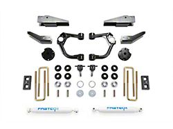 Fabtech 3.50-Inch Ball Joint Upper Control Arm Lift Kit with Performance Shocks and Intrusion Beam Kit (19-21 4WD Ranger SuperCrew)