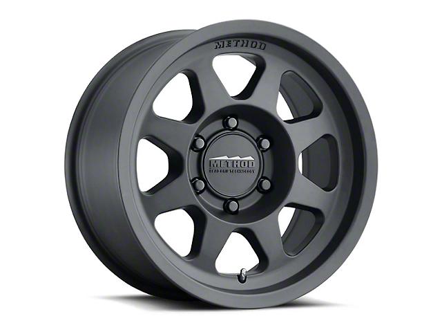 Method Race Wheels MR701 Matte Black Wheel; 17x8.5 (20-21 Jeep Gladiator JT)