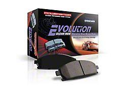 Power Stop Z16 Evolution Clean Ride Ceramic Brake Pads; Front Pair (19-21 Ranger)
