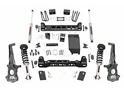 Rough Country 6-Inch Suspension Lift Kit with Lifted N3 Struts and Premium N3 Shocks (19-21 4WD Ranger w/ Cast Steel Knuckles)