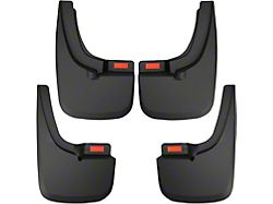 Husky Custom Molded Mud Guards; Front and Rear (19-21 Ranger, Excluding Tremor Package)