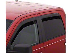 Low Profile Ventvisor Window Deflectors; Front and Rear; Dark Smoke (19-21 Ranger SuperCab)