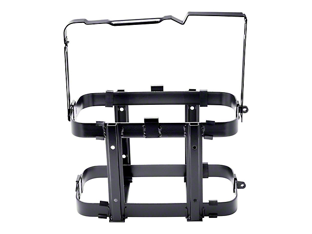 Smittybilt Cargo Can Holder; Black; Universal Mount