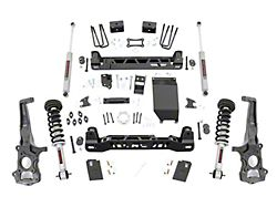 Rough Country 6-Inch Suspension Lift Kit with Lifted N3 Struts and Premium N3 Shocks (19-21 4WD Ranger w/ Aluminum Knuckles)