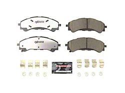 Power Stop Z36 Extreme Truck and Tow Carbon-Fiber Ceramic Brake Pads; Front Pair (19-21 Ranger)