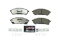 Power Stop Z36 Extreme Truck and Tow Carbon-Fiber Ceramic Brake Pads; Rear Pair (19-21 Ranger)