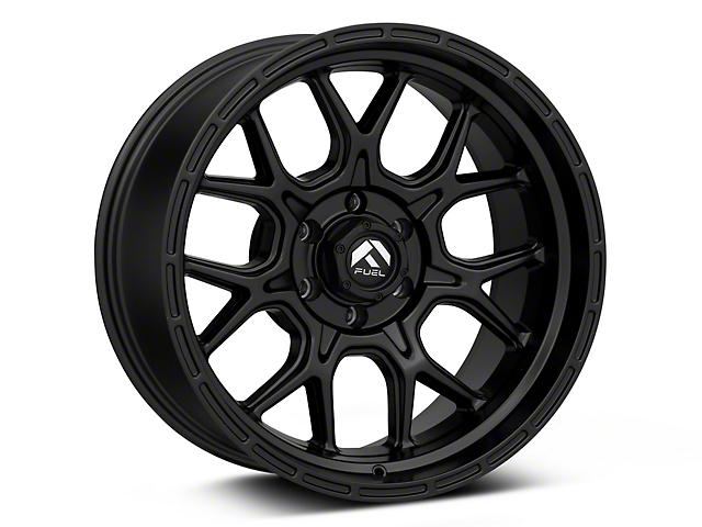 Fuel Wheels Tech Matte Black 6-Lug Wheel; 20x10; -18mm Offset (16-21 Tacoma)