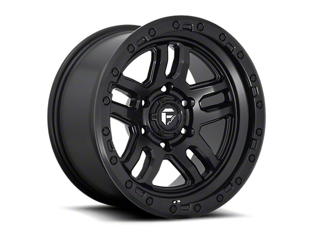 Fuel Wheels Ammo Matte Black 6-Lug Wheel; 17x9; 1mm Offset (16-21 Tacoma)