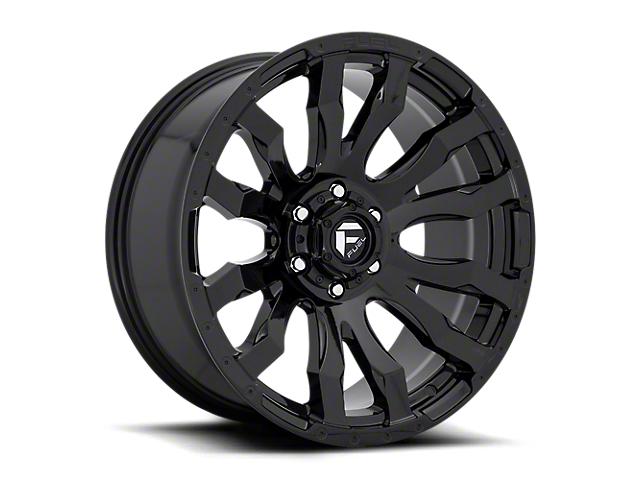 Fuel Wheels Blitz Gloss Black 6-Lug Wheel; 17x9; -12mm Offset (16-21 Tacoma)