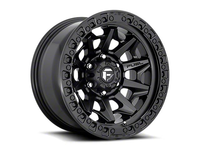 Fuel Wheels Covert Matte Black 6-Lug Wheel; 17x9; -12mm Offset (16-21 Tacoma)