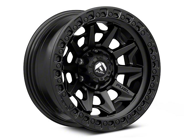 Fuel Wheels Covert Matte Black 6-Lug Wheel; 17x9; 1mm Offset (16-21 Tacoma)