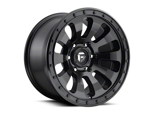 Fuel Wheels Tactic Matte Black 6-Lug Wheel; 17x9; -12mm Offset (05-15 Tacoma)