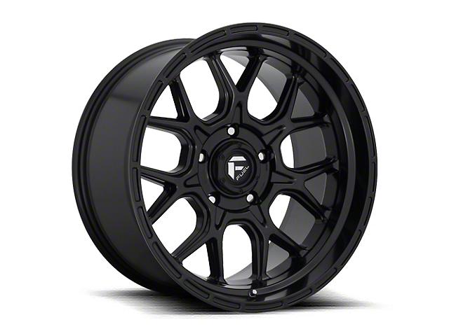 Fuel Wheels Tech Matte Black 6-Lug Wheel; 17x9; 1mm Offset (16-21 Tacoma)