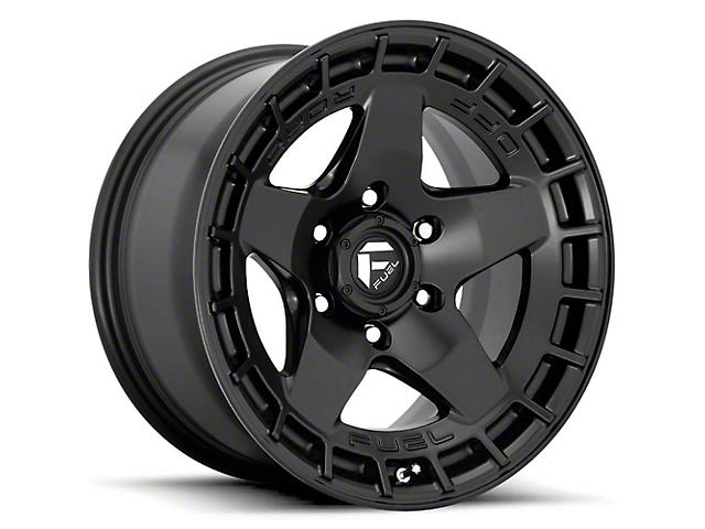 Fuel Wheels Warp Satin Black 6-Lug Wheel; 17x9; -12mm Offset (16-21 Tacoma)