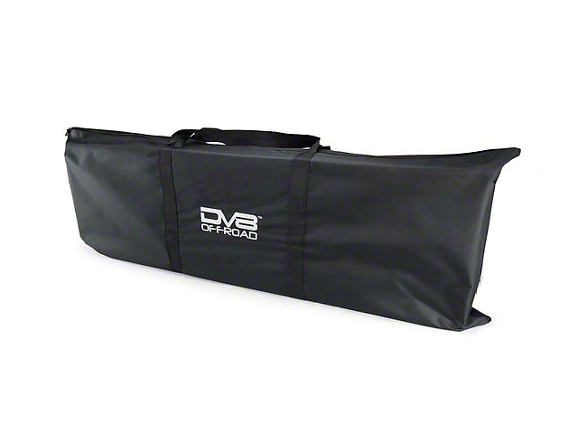 DV8 Offroad Traction Board with Bag; Black