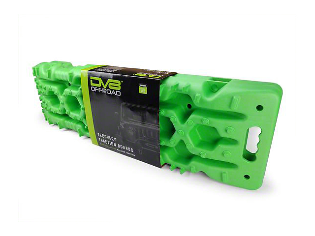 DV8 Offroad Traction Board with Bag; Green