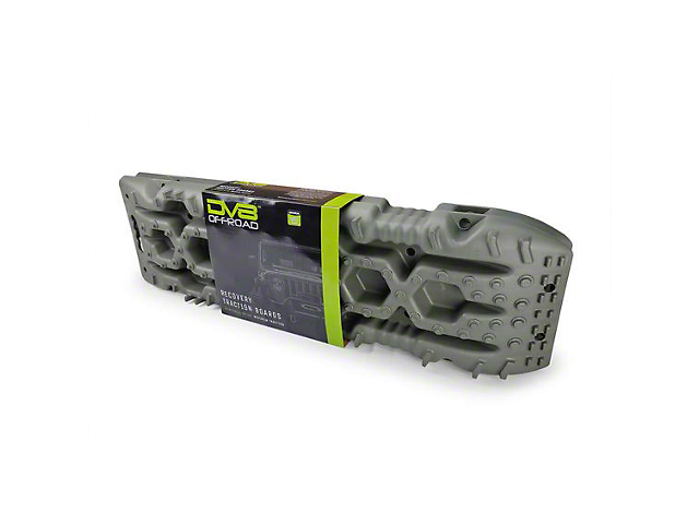 DV8 Offroad Traction Board with Bag; Olive