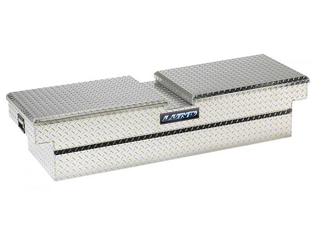 60-Inch Aluminum Economy Crossover Tool Box; Brite (Universal; Some Adaptation May Be Required)