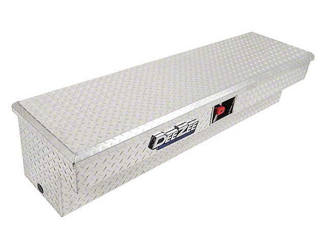 60-Inch Padlock Side Mount Tool Box; Brite-Tread (Universal; Some Adaptation May Be Required)