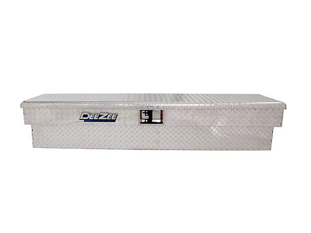 68-Inch Padlock Side Mount Tool Box; Brite-Tread (Universal; Some Adaptation May Be Required)