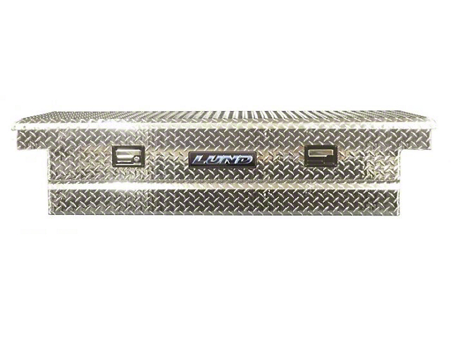 70-Inch Aluminum Economy Crossover Tool Box; Brite (Universal; Some Adaptation May Be Required)