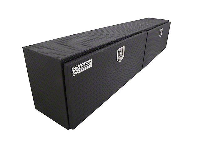 90-Inch Topside Tool Box; Textured Black (Universal; Some Adaptation May Be Required)