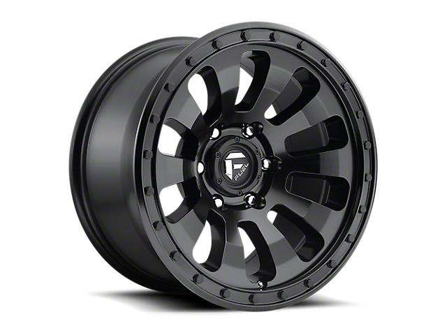 Fuel Wheels Tactic Matte Black 6-Lug Wheel; 20x9; 1mm Offset (05-15 Tacoma)