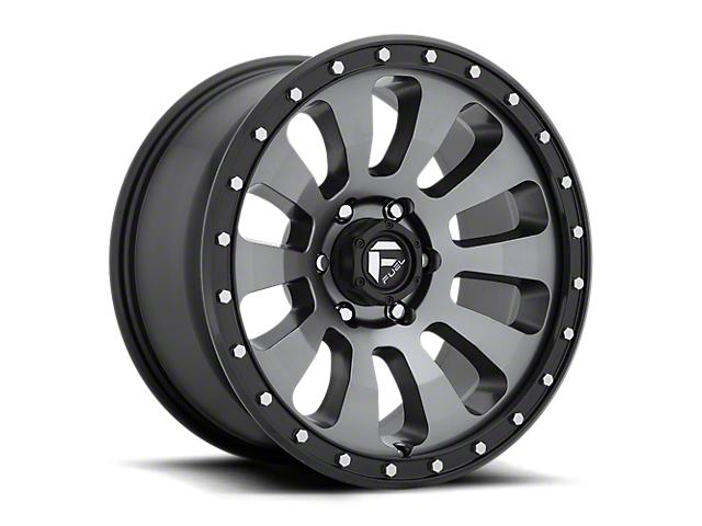 Fuel Wheels Tactic Matte Gunmetal 6-Lug Wheel; 20x9; 1mm Offset (16-21 Tacoma)