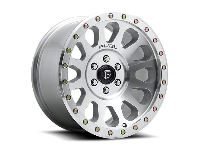 Fuel Wheels Vector Machined 6-Lug Wheel; 20x9; 1mm Offset (05-15 Tacoma)