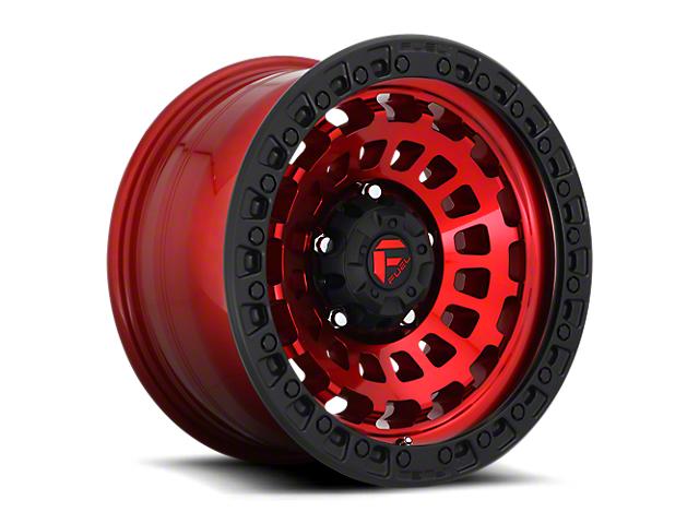 Fuel Wheels Zephyr Candy Red 6-Lug Wheel; 20x9; 1mm Offset (05-15 Tacoma)