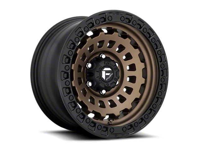 Fuel Wheels Zephyr Matte Bronze 6-Lug Wheel; 20x9; 1mm Offset (05-15 Tacoma)