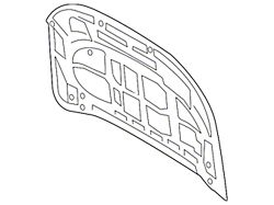 Ford Hood; Unpainted (19-21 Ranger)