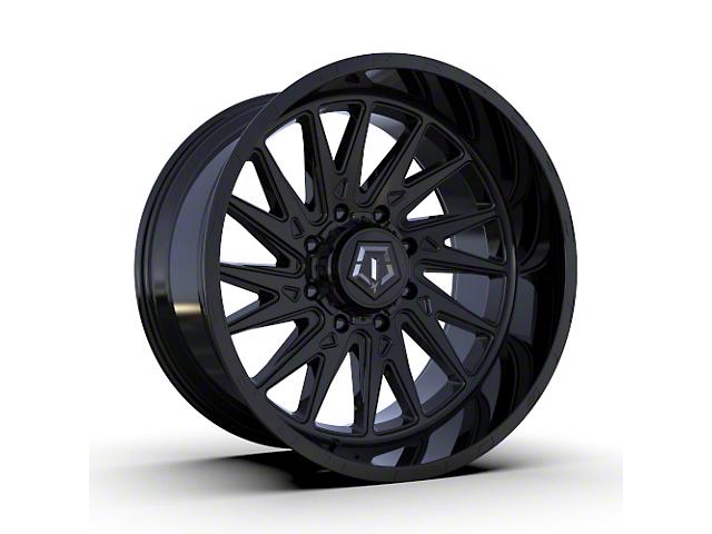 TIS 547B Gloss Black 6-Lug Wheel; 22x10; -19mm Offset (05-15 Tacoma)