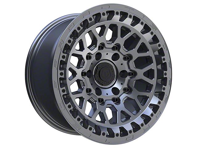 TIS 555A Satin Anthracite 6-Lug Wheel; 17x9; -12mm Offset (16-21 Tacoma)