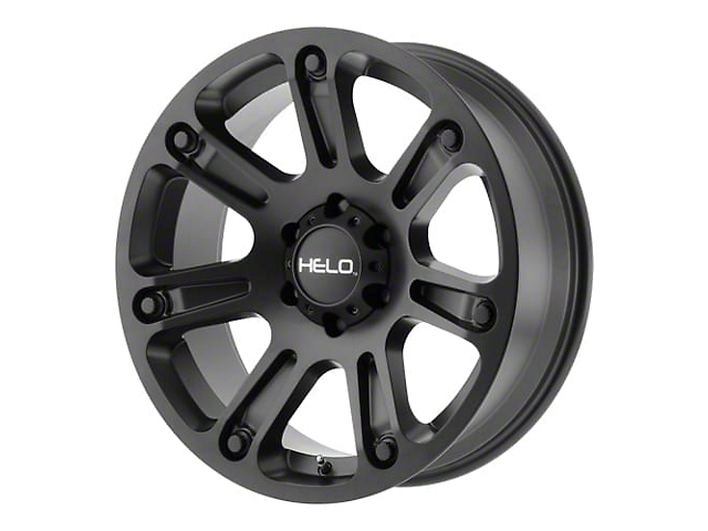 HELO HE904 Satin Black 6-Lug Wheel; 18x9; 0mm Offset (05-15 Tacoma)