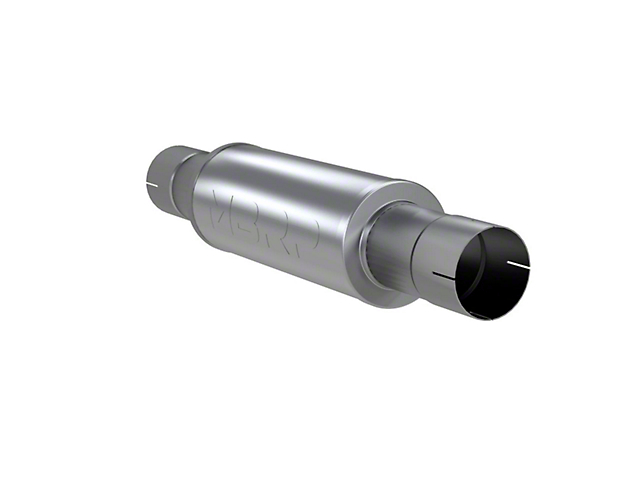 MBRP Installer Series Muffler; 4-Inch Inlet/Outlet (Universal; Some Adaptation May Be Required)