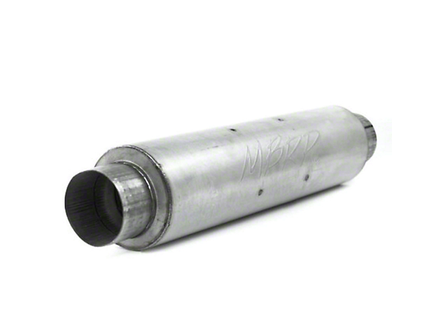 MBRP XP Series Quiet Tone Muffler; 4-Inch Inlet/Outlet (Universal; Some Adaptation May Be Required)