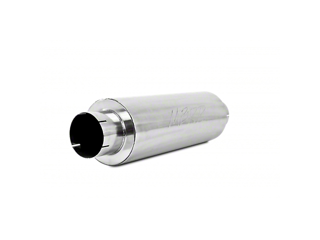 MBRP XP Series Quiet Tone Muffler; 5-Inch Inlet/Outlet (Universal; Some Adaptation May Be Required)