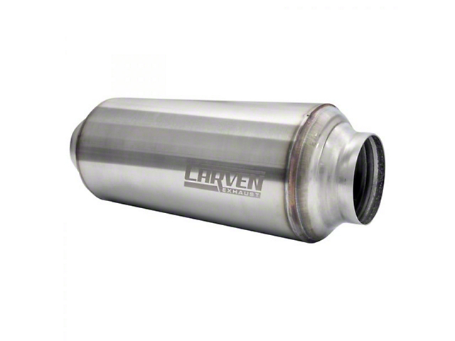 Carven Exhaust Carven-TR Performance Muffler; 2.50-Inch (Universal; Some Adaptation May Be Required)