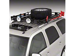 Surco Safari Roof Rack; 40-Inch x 50-Inch (Universal; Some Adaptation May Be Required)