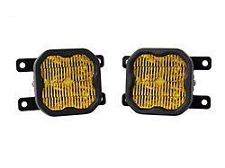 Diode Dynamics SS3 Sport Type AS LED Fog Light Kit; Yellow SAE Fog (19-21 Ranger)