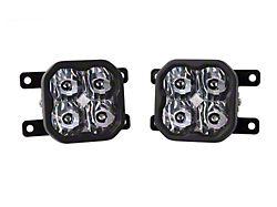 Diode Dynamics SS3 Pro Type AS LED Fog Light Kit; White SAE Driving (19-21 Ranger)