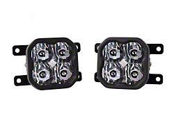 Diode Dynamics SS3 Pro Type AS LED Fog Light Kit; White SAE Fog (19-21 Ranger)