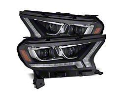 LUXX-Series LED Projector Headlights; Black Housing; Clear Lens (19-21 Ranger)