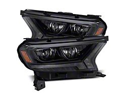 PRO-Series Projector Headlights; Alpha Black Housing; Clear Lens (19-21 Ranger)