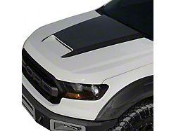 V1 Ram Air Hood with Carbon Fiber Blister; Unpainted (19-21 Ranger)