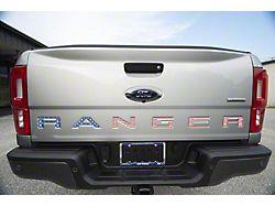 Tailgate Insert Letters; American Flag (19-21 Ranger)